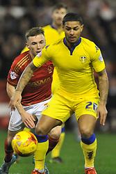Liam Bridcutt  Leeds United, Nottingham Forest v Leeds United, Sky Bet Championship, City Ground, Sunday 27th December 2015