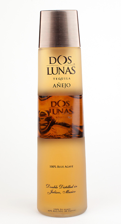 Dos Lunas anejo -- Image originally appeared in the Tequila Matchmaker: http://tequilamatchmaker.com
