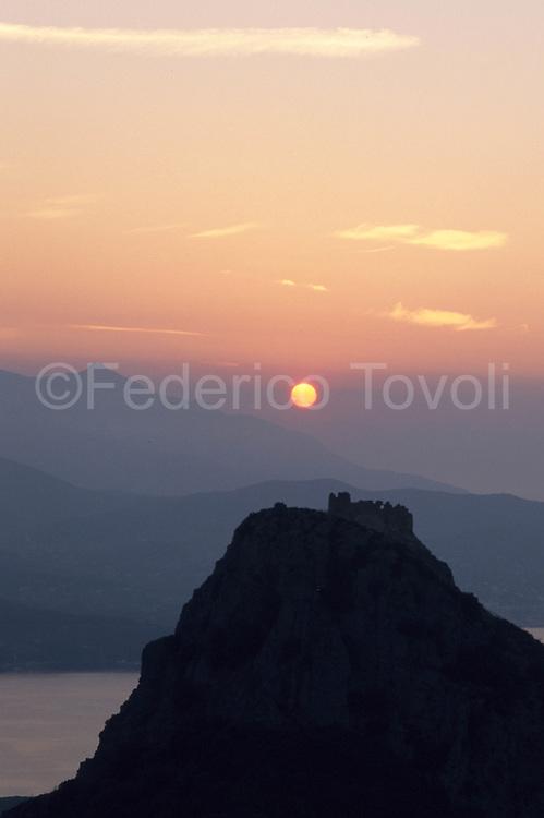Sunset at Volterraio
