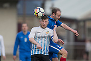 18/05/2018 - FC Boukir (light blue and white) v DC Athletic in the George McArthur Memorial Cup Final at North End Park, Dundee, Picture by David Young -