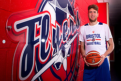 New signing for the Bristol Flyers, Michael Vigor - Mandatory by-line: Robbie Stephenson/JMP - 05/09/2016 - BASKETBALL - SGS Wise Arena - Bristol, England - Bristol Flyers - British Basketball League - Bristol Flyers New Signings -