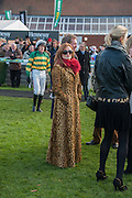 LAURA BYRNE, Hennessy Gold Cup, The Racecourse Newbury. 30 November 2013.