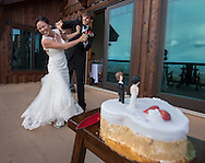 Alex and Cindy wedding in Truckee. May 28, 2016.