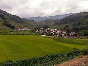 Yuanyang County is located in Honghe Prefecture in southeastern Yunnan province, China, along the Red River. It is well known for its spectacular rice-paddy terracing. Part of the area now forms the 45th World Heritage Site in China.