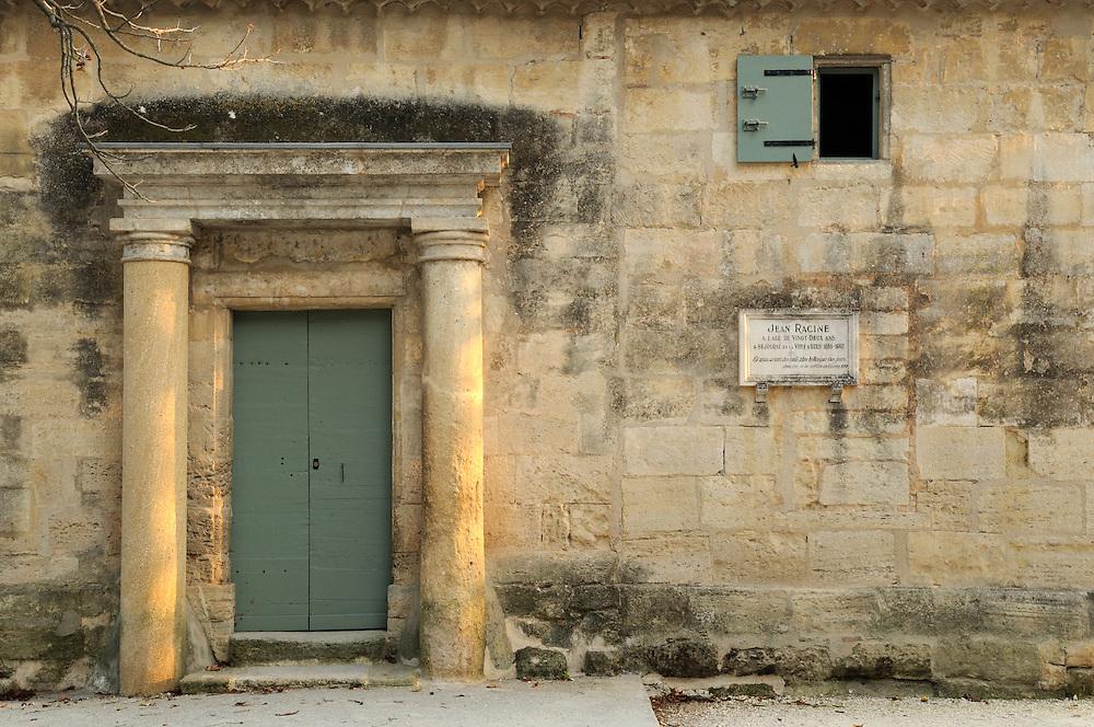 France, Languedoc Roussillon, Gard (30), Uzès, le pavillon Racine, classé à l'inventaire des monuments historiques