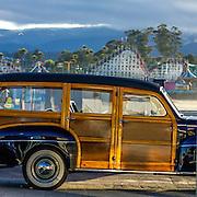 Woodies on the Wharf 2012 in Santa Cruz Ca.