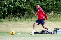 Ashely Harper in action as Bristol City Under 23s continue their preseason training - Mandatory by-line: Robbie Stephenson/JMP - 10/07/2017 - FOOTBALL - Failand Training Ground - Bristol, United Kingdom - Bristol City Preseason Training