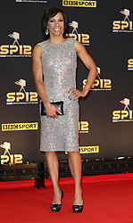 Kelly Holmes arriving at the BBC Sports Personality of the Year awards in London, Sunday, 16th December 2012.  Photo by: Stephen Lock / i-Images