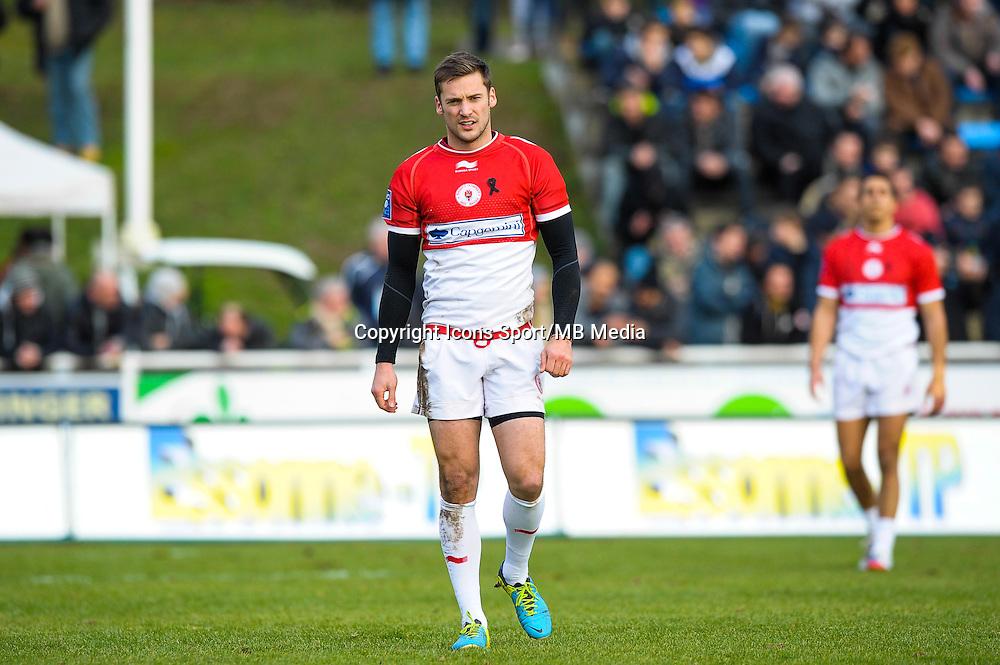 Paul Couet Lannes - 25.01.2015 - Massy / Biarritz - 18eme journee de Pro D2<br /> Photo : Andre Ferreira / Icon Sport