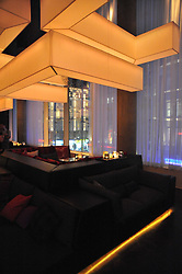 Interior at a party to celebrate the 15th birthday of Vogue.com held at W Hotel, Leicester Square, London W1 on 17th February 2011.