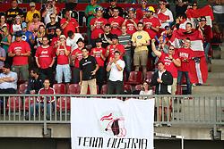 27.07.2010, Wetzlar Stadion, Wetzlar, GER, Football EM 2010, Team Austria vs Team Finland, im Bild Fans von Team Austria,  EXPA Pictures © 2010, PhotoCredit: EXPA/ T. Haumer
