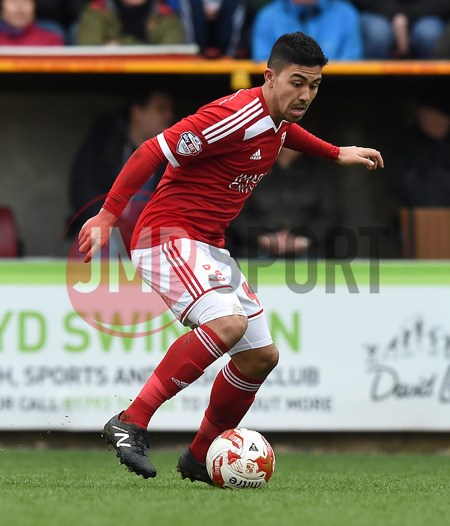 Swindon Town's Massimo Luongo in action during the Sky Bet League One match between Swindon Town and Milton Keynes Dons at The County Ground on 4 April 2015 in Swindon, England - Photo mandatory by-line: Paul Knight/JMP - Mobile: 07966 386802 - 04/04/2015 - SPORT - Football - Swindon - The County Ground - Swindon Town v Milton Keynes Dons - Sky Bet League One