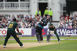 Ross Whiteley of Worcestershire Rapids in action as he is caught out by SJ Mullaney of Notts Outlaws (Not Pictured) - Mandatory by-line: Jack Phillips/JMP - 09/07/2016 - CRICKET - Trent Bridge - Nottingham, United Kingdom - Nottingham Outlaws v Worcestershire Rapids - Natwest T20 Blast