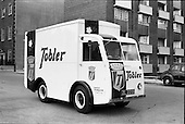 "1962 - Williams and Woods ""Tobler"" NCB electric van at Williams and Woods"