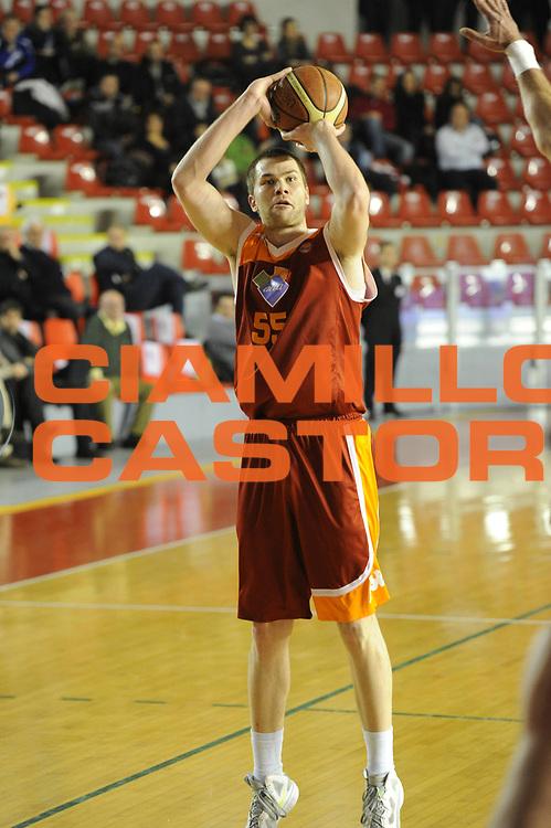 DESCRIZIONE : Roma Lega A 2011-2012 Acea Roma Fabi Shoes Montegranaro<br /> GIOCATORE : Uros Slokar<br /> CATEGORIA : tiro <br /> SQUADRA : Acea Roma<br /> EVENTO : Campionato Lega A 2011-2012<br /> GARA : Acea Roma Fabi Shoes Montegranaro<br /> DATA : 08/02/2012<br /> SPORT : Pallacanestro<br /> AUTORE : Agenzia Ciamillo-Castoria/GiulioCiamillo<br /> GALLERIA : Lega Basket A 2011-2012<br /> FOTONOTIZIA : Roma Lega A 2011-2012 Acea Roma Fabi Shoes Montegranaro<br /> PREDEFINITA :