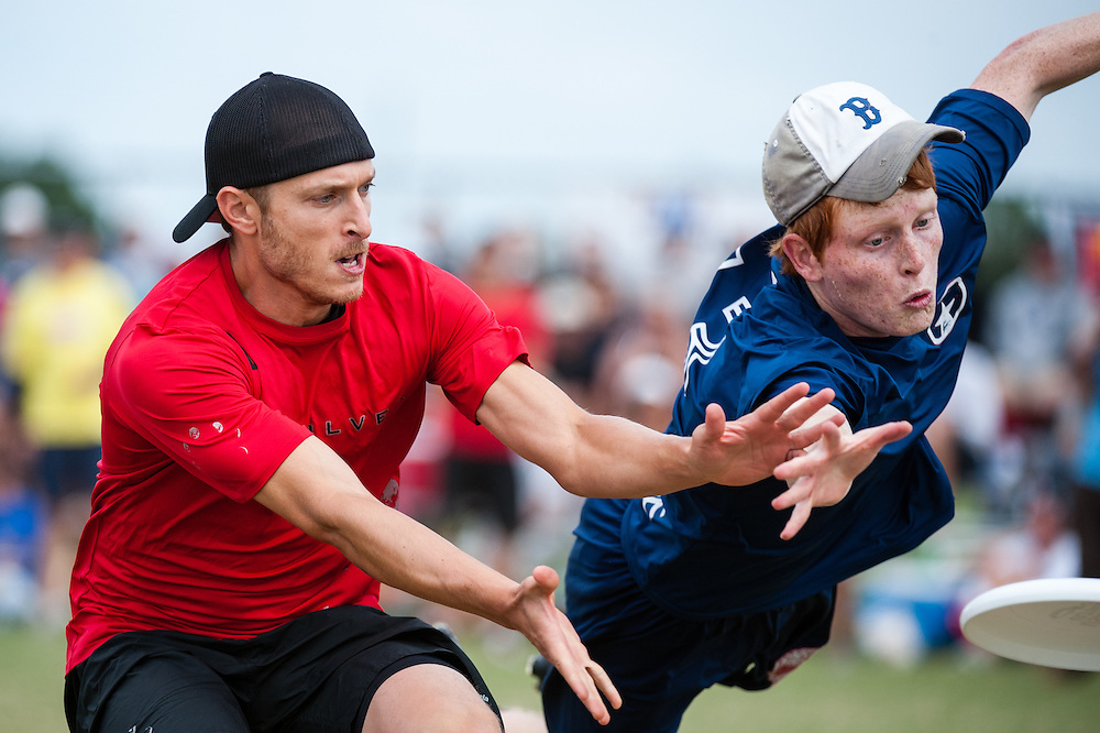 San Francisco Revolver vs Austin Doublewide. USAU Open Championship. UltiPhotos 2012 USA Ultimate Club Championships Official Event Photography from Sarasota, FL (10/28/2012).