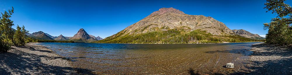Two Medicine Lake Panorama 3