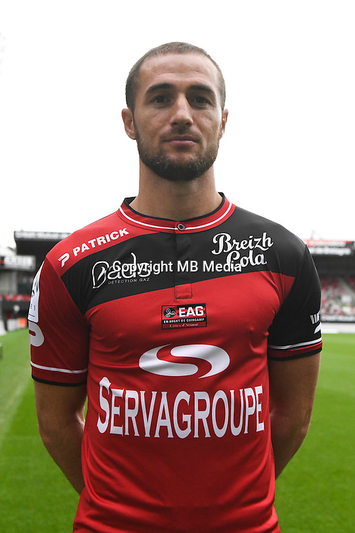 Reynald Lemaitre of Guingamp during the Photo shooting of En Avant Guingamp on september 27th 2016<br /> Photo : Philippe Le Brech / Icon Sport