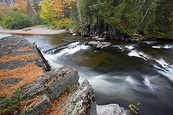Fall on Big Wilson Stream in Elliotsville, Maine.