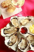 Villa Margot, Quiberon..oysters...photo by Owen Franken for the NY Times..July 7, 2008..