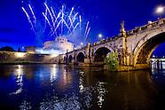 Girandola fireworks at Castel Sant'Angelo