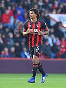 Nathan Ake (5) of AFC Bournemouth during the Premier League match between Bournemouth and Arsenal at the Vitality Stadium, Bournemouth, England on 25 November 2018.