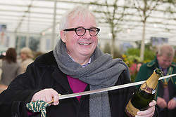 © Licensed to London News Pictures. 20/05/2013. London, England. Actor Christopher Biggins. Celebrities at Press Day Monday of the RHS Chelsea Flower Show. Photo credit: Bettina Strenske/LNP