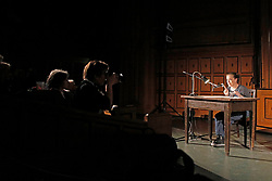 Die Buchpremiere 'Inside Fukushima' mit Tomohiko Suzuki, Günter Wallraff, Sebastian Pflugbeil, Monika Griefahn, Anna Thalbach und Oliver Neß am Abend des sechsten Jahrestags des Fukushima-GAU. Im Bild: Anna Thalbach<br /> <br /> Ort: Hamburg<br /> Copyright: Andreas Conradt<br /> Quelle: PubliXviewinG