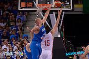 DESCRIZIONE: Torino FIBA Olympic Qualifying Tournament Finale Italia - Croazia<br /> GIOCATORE: Marco Cusin<br /> CATEGORIA: Nazionale Italiana Italia Maschile Senior<br /> GARA: FIBA Olympic Qualifying Tournament Finale Italia - Croazia<br /> DATA: 09/07/2016<br /> AUTORE: Agenzia Ciamillo-Castoria