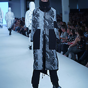 London,England,UK : 7th June 2016 : Graduate student Mike Key showcases their work at the GFW 25th Anniversary Day three show of Brighton University held at Truman Brewery, London. © See Li/Alamy Live