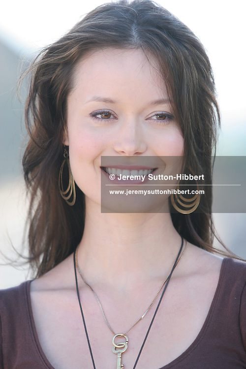 SUMMER GLAU, actor in 'Serenity'. Photocall for movie 'Serenity', written and directed by Jos Whedon, as part of the Edinburgh International Film Festival. Edinburgh, Scotland, 22.08.05