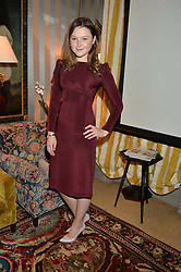 AMBER ATHERTON at a private screening of 'A Postcard From Istanbul' directed by John Malkovich In Collaboration With St. Regis Hotels & Resorts held at 5 Hertford Street, London on 3rd March 2015