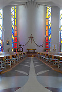 Kirche St. Christoph, Graz.Architektur: Robert Kramreiter.Erbaut 1962-1964