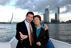 09-12-2006 VOLLEYBAL: CEV OP BEZOEK IN NEDERLAND: ROTTERDAM<br /> De board of Executive Committee CEV waren uitgenodigd door Rotterdam, Rotterdam Topsport en de NeVoBo voor de uitleg van O[peration Restore Confidence / <br /> ©2006-WWW.FOTOHOOGENDOORN.NL