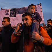 Lesvos Refugee Demonstration - November 26, 2016