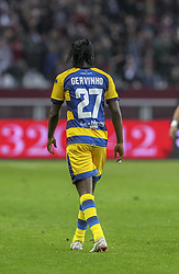 November 10, 2018 - Turin, Piedmont, Italy - Gervinho (Parma Calcio 1913) during the Serie A football match between Torino FC and Parma Calcio 1913 at Olympic Grande Torino Stadium on November 10, 2018 in Turin, Italy..Torino FC lost 1-2 over Parma. (Credit Image: © Massimiliano Ferraro/NurPhoto via ZUMA Press)