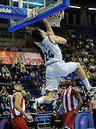 KOSARKA, BEOGRAD, 21. Nov. 2010. - Kosarkas Partizana Jan Vesely. Utakmica 13. kola NLB lige  u sezoni (2010/2011) izmedju Partizana i Crvene zvezde. Foto: Nenad Negovanovic