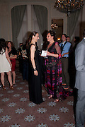 CATHERINE BAILEY; TANYA COLERIDGE, Dinner to mark 50 years with Vogue for David Bailey, hosted by Alexandra Shulman. Claridge's. London. 11 May 2010 *** Local Caption *** -DO NOT ARCHIVE-© Copyright Photograph by Dafydd Jones. 248 Clapham Rd. London SW9 0PZ. Tel 0207 820 0771. www.dafjones.com.<br /> CATHERINE BAILEY; TANYA COLERIDGE, Dinner to mark 50 years with Vogue for David Bailey, hosted by Alexandra Shulman. Claridge's. London. 11 May 2010