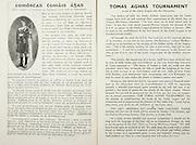 All Ireland Senior Hurling Championship Final,.Brochures,.01.09.1946, 09.01.1946, 1st September 1946, .Cork 7-5, Kilkenny 3-8, .Minor Dublin v Tipperary.Senior Cork v Kilkenny.Croke Park, ..Articles, Thomas Aghas Tournament,