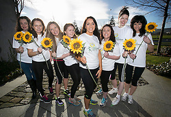 Repro Free: 18/02/2014<br /> Broadcaster and fitness instructor Louise Heraghty of 2fm fame (center) is pictured with Unilever staff to announce that registration opens on Wednesday 19th February for the 2014 Flora Women&rsquo;s Mini Marathon. Participants are advised to register early as the event regularly reaches maximum capacity in advance of the closing date. The popular 10k event takes place on Monday, 2nd June. The Flora Women&rsquo;s Mini Marathon is the biggest all-women&rsquo;s event of it&rsquo;s kind in the world and it draws over 40,000 participants each year. Since the biggest event began, over &euro;173m has been raised for Irish Charities, making it the biggest single day charity event in Ireland. Pictured from left is, Lisa-Ann Molloy, Eimear Carroll, Emma Priestman, Maisie-Rose Byrne, Broadcaster Louise Heraghty, Emma Meegan, Kathryn Dodd and Teresa Braden-Horst. Picture Andres Poveda