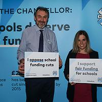 Rally Against School Cuts