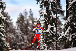 March 9, 2019 - –Stersund, Sweden - 190309 Soma Gyallai of Hungary competes in the Men's 10 KM sprint during the IBU World Championships Biathlon on March 9, 2019 in Östersund..Photo: Petter Arvidson / BILDBYRÃ…N / kod PA / 92252 (Credit Image: © Petter Arvidson/Bildbyran via ZUMA Press)