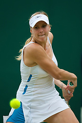 LONDON, ENGLAND - Friday, June 27, 2008: Nicole Vaidisova (CZE) during her third round match on day five of the Wimbledon Lawn Tennis Championships at the All England Lawn Tennis and Croquet Club. (Photo by David Rawcliffe/Propaganda)