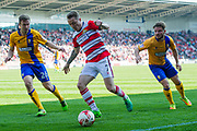 Doncaster Rovers Midfielder Gary McSheffrey (7) during the EFL Sky Bet League 2 match between Doncaster Rovers and Mansfield Town at the Keepmoat Stadium, Doncaster, England on 8 April 2017. Photo by Craig Zadoroznyj.