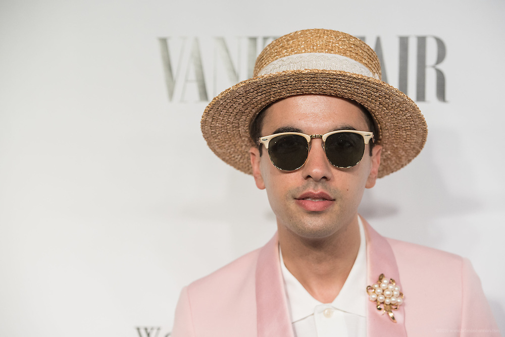 DJ Cassidy is seen on the black carpet at the Vanity Fair Derby party at 21c Museum Hotel. May 6, 2016