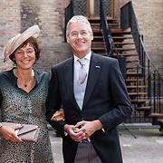 NLD/Den Haag/20190917 - Prinsjesdag 2019, Arie Slob en partner