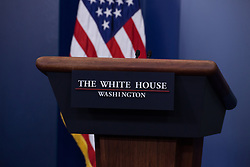 May 10, 2017 - Washington, DC, United States - White House Principal Deputy Press Secretary Sarah Sanders delivered the press briefing in the James S. Brady Press Briefing Room of the White House, on Wednesday, May 10, 2017. (Photo by Cheriss May) (Credit Image: © Cheriss May/NurPhoto via ZUMA Press)