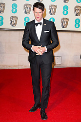 © Licensed to London News Pictures. 14/02/2016. London, UK. MATT SMITH arrives on the red carpet for the EE British Academy Film Awards 2016 after party held at Grosvenor House . London, UK. Photo credit: Ray Tang/LNPPhoto credit: Ray Tang/LNP