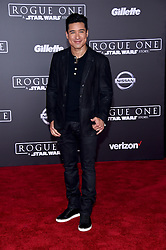 Celebrities walk the red carpet for the 'Rogue One: A Star Wars Story' world premiere held at the Pantages Theatre in Hollywood. 10 Dec 2016 Pictured: Mario Lopez. Photo credit: American Foto Features / MEGA TheMegaAgency.com +1 888 505 6342