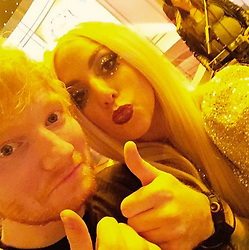 "Lady Gaga releases a photo on Instagram with the following caption: ""What an incredible talented artist I LOVE ED @teddysphotos deserves all our love and respect like all humans do. I wish all people on the internet would be positive and loving and apart of creating an online community that is kind and empowering, not hateful and mean. No reason to tear down an artist simply because they are on top. Work harder to be kinder everybody. That should be your first duty to humanity."". Photo Credit: Instagram *** No USA Distribution *** For Editorial Use Only *** Not to be Published in Books or Photo Books ***  Please note: Fees charged by the agency are for the agency's services only, and do not, nor are they intended to, convey to the user any ownership of Copyright or License in the material. The agency does not claim any ownership including but not limited to Copyright or License in the attached material. By publishing this material you expressly agree to indemnify and to hold the agency and its directors, shareholders and employees harmless from any loss, claims, damages, demands, expenses (including legal fees), or any causes of action or allegation against the agency arising out of or connected in any way with publication of the material."